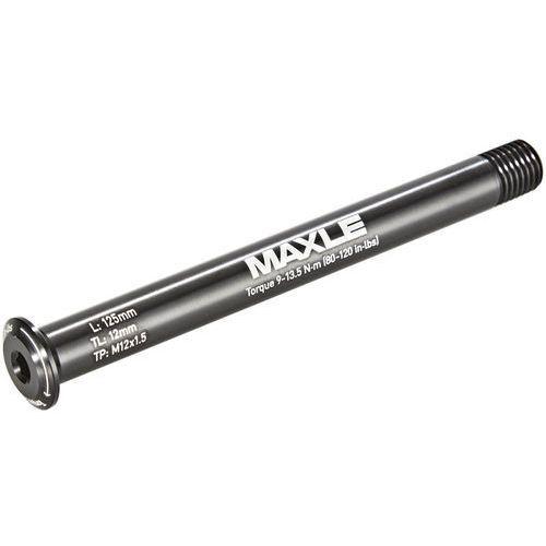 Rockshox maxle stealth road 12x100mm czarny 2018 szybkozamykacze i osie (0710845768187)