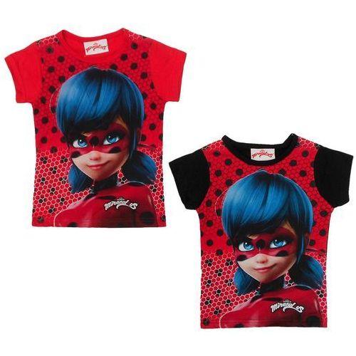 T-shirt Miraculum: Biedronka i Czarny Kot, kolor czarny