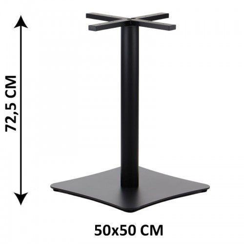 Podstawa stolika SH-3060-2/B, 50x50 cm (stelaż stolika), kolor czarny, SH3060-2/50/72/01