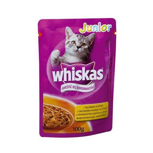 Whiskas  junior kurczak w galaretce saszetka 100g