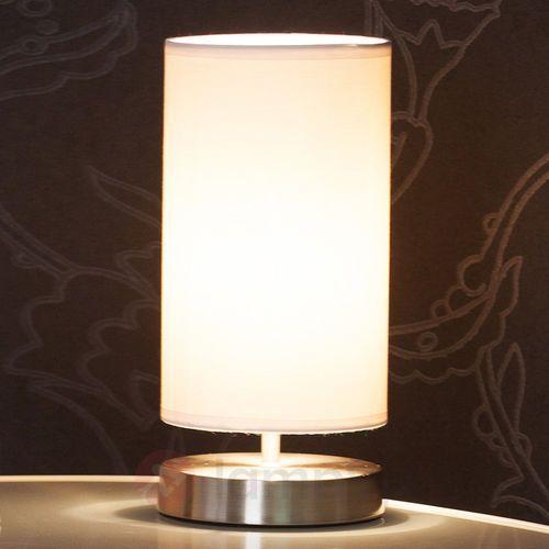 Lampka nocna 13247/05, 1x40 w, e14, biały, (Øxw) 12 cmx25.5 cm, 230 v marki Brilliant
