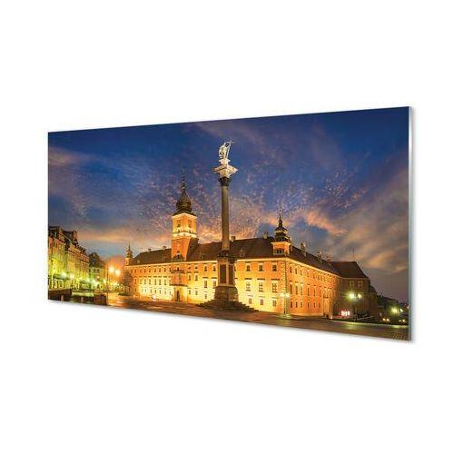 Obrazy akrylowe Warszawa Stare miasto zachód słońca