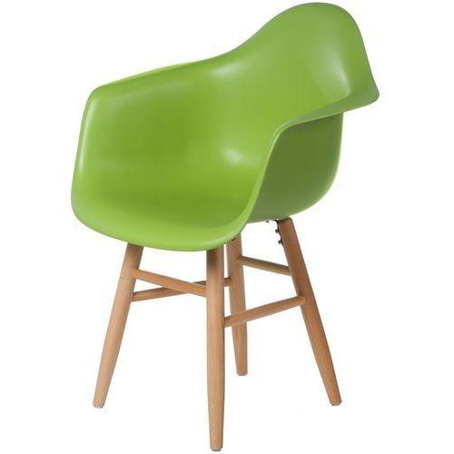 Krzesło P18 PLUS insp. DAW zielony D2, 5302