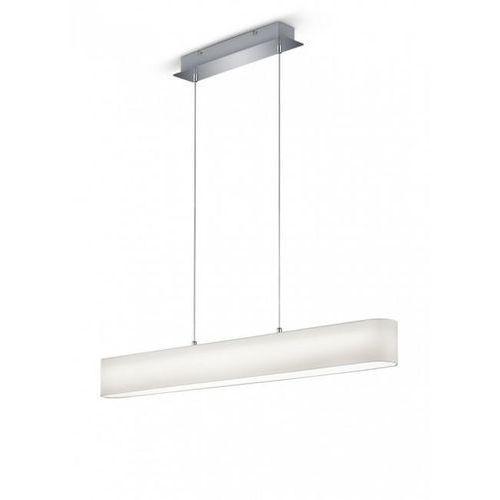 Trio LUGANO Lampa wisząca LED Biały, 1-punktowy - Nowoczesny/Dworek - Obszar wewnętrzny - LUGANO - Czas dostawy: od 3-6 dni roboczych