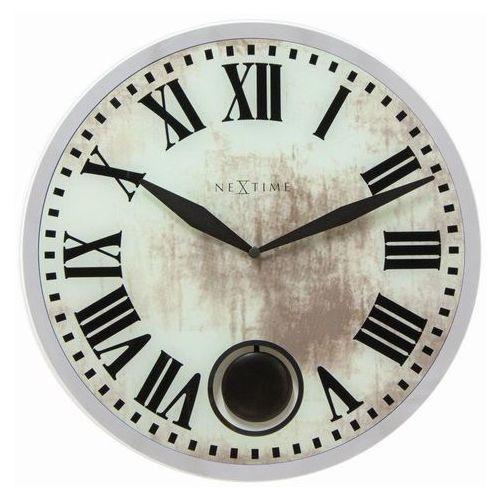 - zegar ścienny romana 43 cm - biały marki Nextime