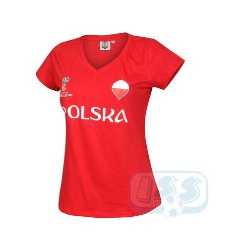 OKAZJA - BPOL175w: Polska - koszulka damska World Cup 2018