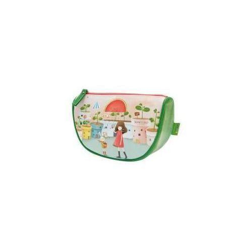 Santoro Kosmetyczka z klinem duża - melon showers