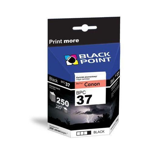 Tusz BLACK POINT BPC37 Zamiennik Canon PG-37, kolor czarny