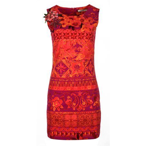 a5297feb63 sukienka damska angelina 42 czerwony mar.