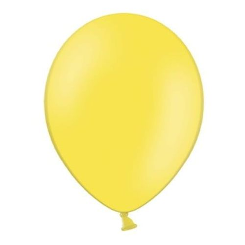 """Balony 12"""" Strong, Żółte, Lemon Zest, pastelowe 100 szt., BGGP/5786-9"""