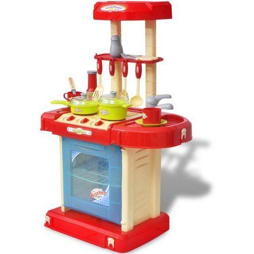vidaXL Kuchnia dla dzieci z efektami dźwiękowymi i świetlnymi