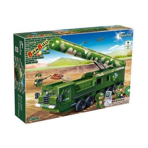 Klocki BanBao 6202 Armia Duża wyrzutnia rakiet 458 el.