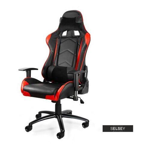 SELSEY Fotel gamingowy Morvar II