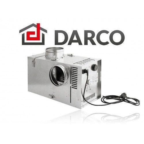 Zestaw nawiewny (turbina z bypassem i filtrem) 125mm, 400m3/h (banan-1) marki Darco