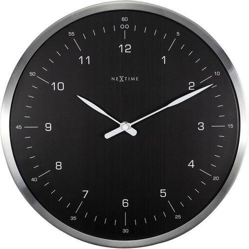 NeXtime - Zegar ścienny 60 Minutes - czarny