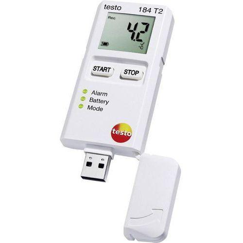 Testo Rejestrator temperatury  184 t2 0572 1842 kalibracja fabryczna (bez certyfikatu) (4029547012976)