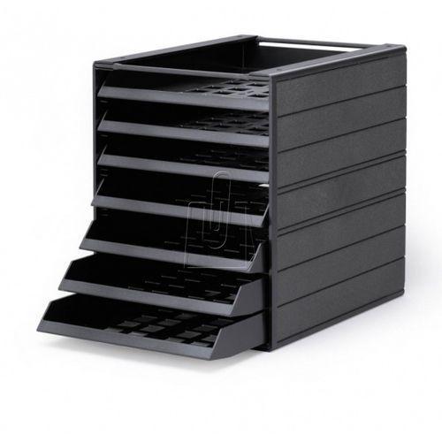 """Pojemnik z szufladami idealbox basic 7 """"blue angel"""" 1712002058 antracyto marki Durable"""