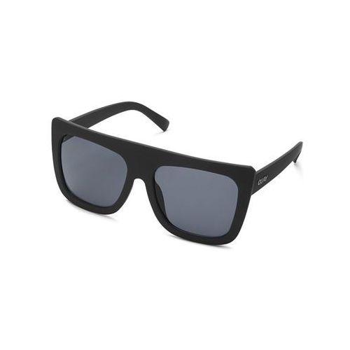 Quay australia Okulary słoneczne qu-000183 cafe racer blk/smk