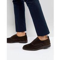 suede derby shoes in brown - brown marki Zign