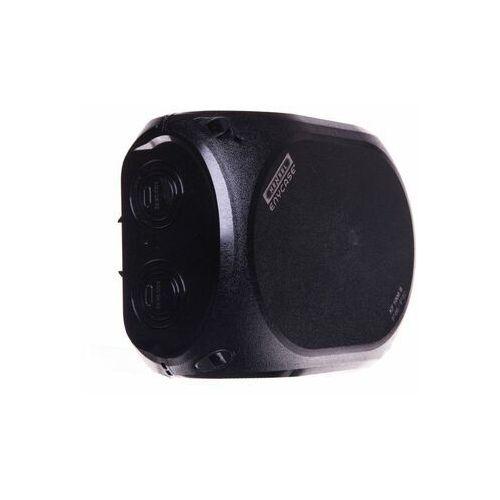 Kf 1000 b puszka do instalacji zewn., czarna ip66/ip67 180x130x77, bez zacisków marki Hensel
