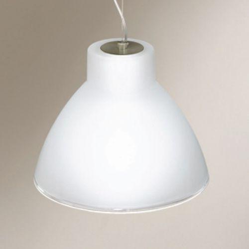 Linea light Lampa wisząca campana nikiel 250 żarówka led gratis!, 4431