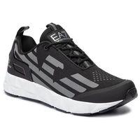 Sneakersy EA7 EMPORIO ARMANI - X8X033 XCC52 N629 Black/Silver, kolor czarny