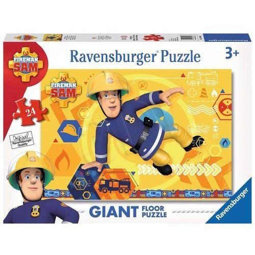 puzzle podłogowe 24el strażak sam - 4005556054466- natychmiastowa wysyłka, ponad 4000 punktów odbioru! marki Ravensburger