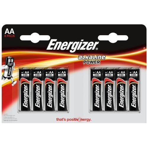 8 x bateria alkaliczna Energizer Alkaline Power LR6/AA (blister) (7638900410686)