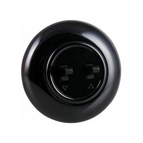 Dpm Włącznik żaluzjiowy lf0023b loft czarny