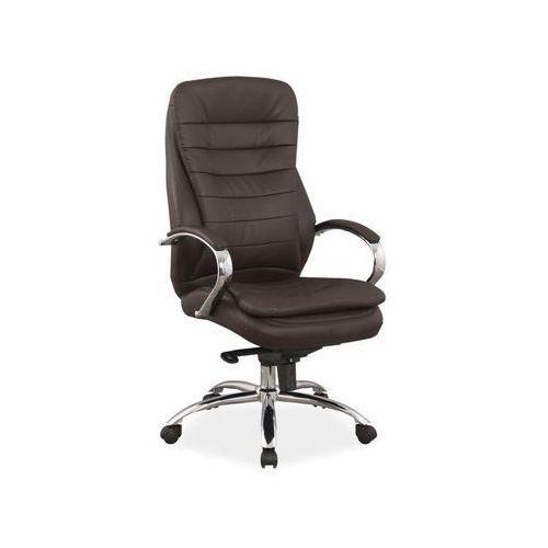 Signal Fotel obrotowy, krzesło biurowe q-154 brown