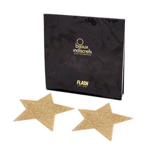 Naklejki na sutki -  flash star gold złota gwiazda od producenta Bijoux indiscrets