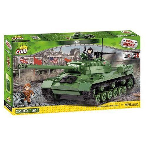 Armia IS-3 radziecki czołg ciężki - Cobi Klocki