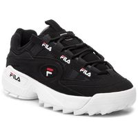Sneakersy - d-formation men 1cm00490.014 black/white/fila red, Fila, 40-45