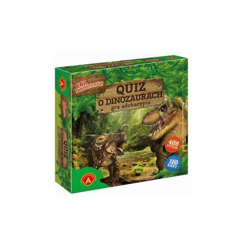 Quiz o dinozaurach - Era dinozaurów - Alexander