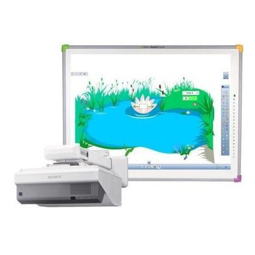 Interwrite Tablica dualboard 1289 + projektor sony vpl-sw 631 + uchwyt ścienny sony