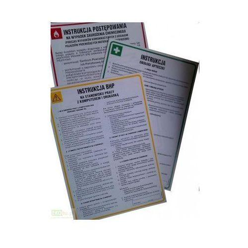 Instrukcja bhp przy obsłudze maszyny do oprawy dokumentów art. r05 marki Epak