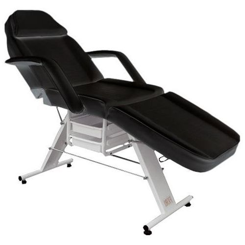 Fotel kosmetyczny manualny BASIC z kuwetami czarny, TS-2606A/B2005 black