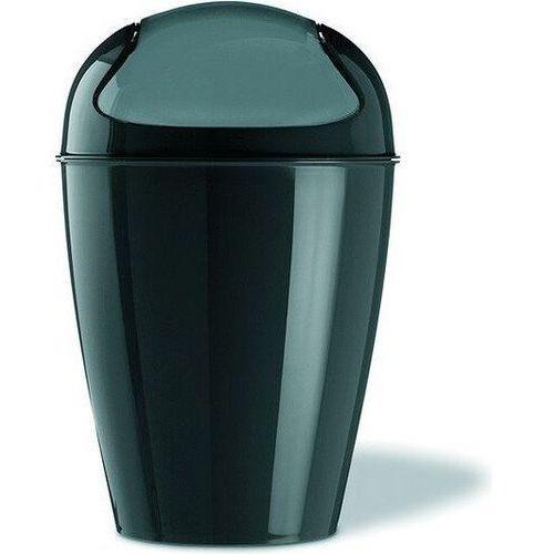 Koziol Kosz na śmieci del xs, 2 l - kolor czarny,