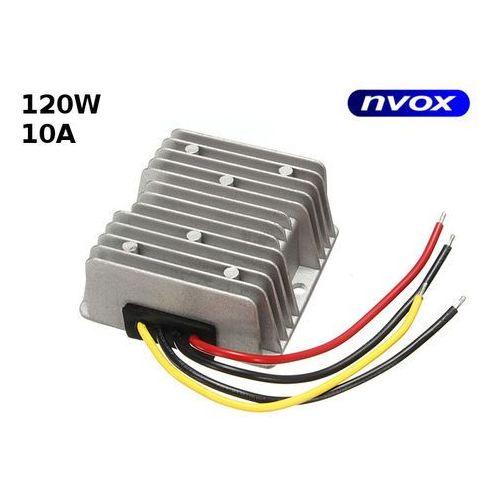 Przetwornica reduktor napięcia z 24v na 12v o mocy 120w marki Nvox