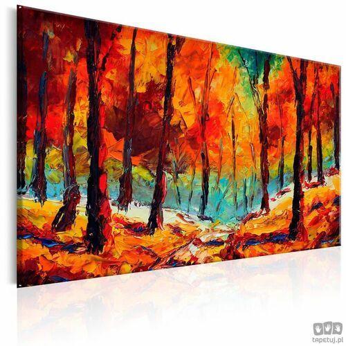 Obraz ręcznie malowany artystyczna jesień marki Artgeist