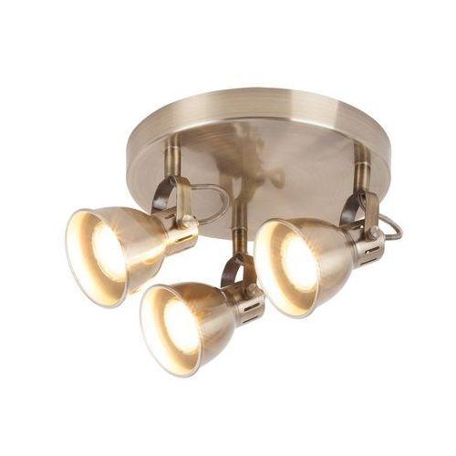 Rabalux Plafon lampa sufitowa ralph 3x9w gu10 brąz 6729 (5998250367293)