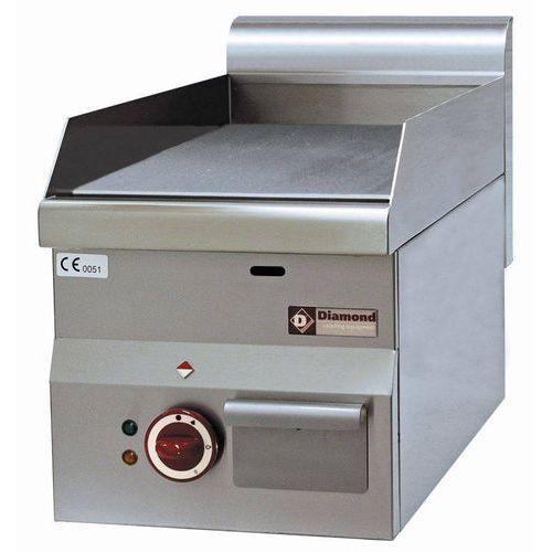Płyta grillowa elektryczna nastolna   gładka   6000w   660x530x(h)290mm marki Diamond