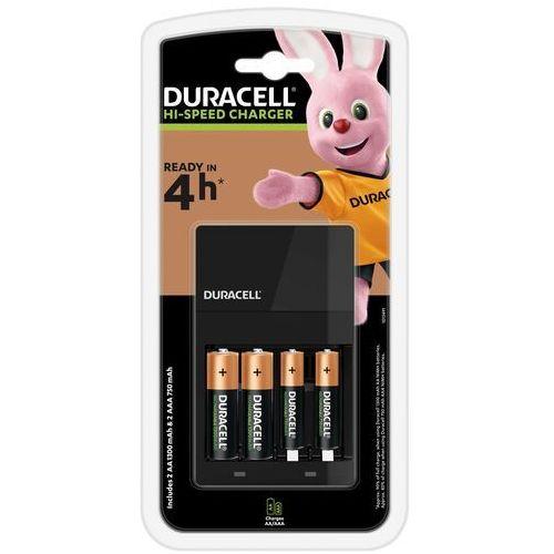 Ładowarka do akumulatorów DURACELL CEF14 + 2x AA + 2x AAA (5000394114500)