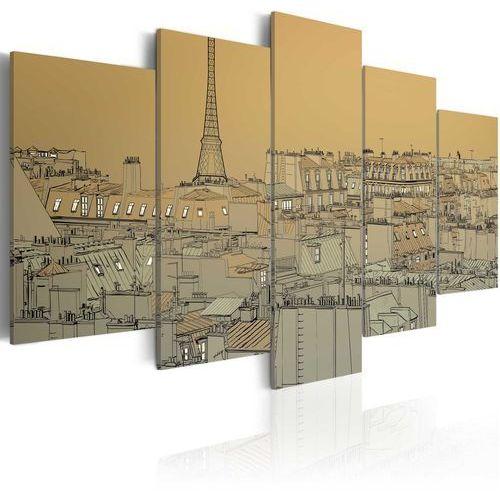 Artgeist Obraz - stary dobry paryż (vintage)