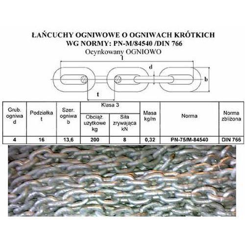 Łańcuch KOTWICZNY,KOTWICY ocynk OGNIOWY 8mm DIN766 - produkt z kategorii- Pozostałe sporty wodne