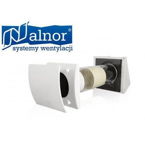 Alnor Rekuperator wewnątrzścienny z odzyskiem ciepła 25m³/h (hru-wall-100-25)
