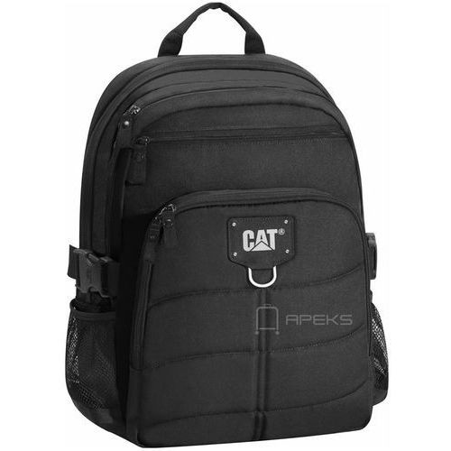 Caterpillar BRENT plecak na laptop 15,6'' / CAT / Black - Black