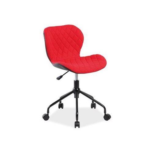 Signal Fotel obrotowy, krzesło biurowe rino czerwony
