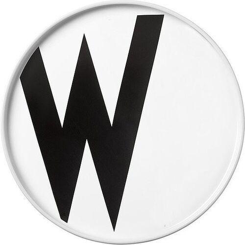 Design letters Talerz porcelanowy aj litera w