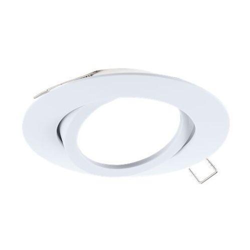 Oczko tedo 96616 wpuszczane oprawa do wbudowania downlight 1x50w gu10 biały marki Eglo